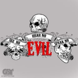 skull clothing see no evil cool t shirts