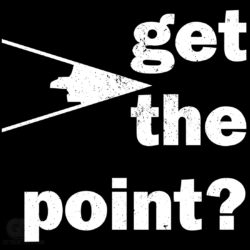 Get The Point funny Pun T-shirt