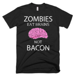 zombies eat brains funny humorous t-shirt halloween