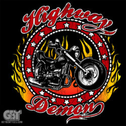 Biker T-shirt gift for dad