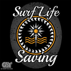 Surf life saving t-shirt