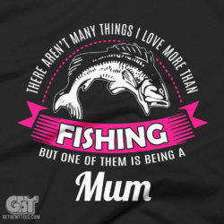 this mum loves fishig shirt for mums nanas grandma