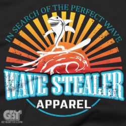 surf apparel t-shirt surfing shirts waves sand surfing