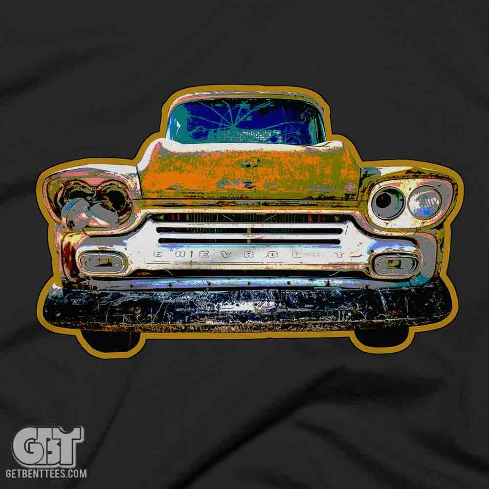 rusy car tshirt graphic tee for men and women