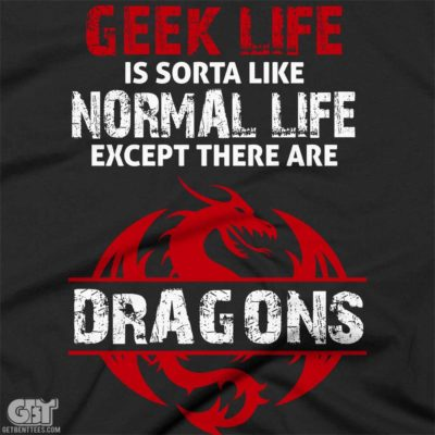 cool gaming geek tshirt dragon tshirt