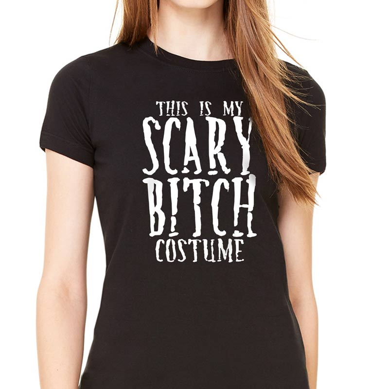 769b3bdbb85 This Is My Scary Bitch Costume Halloween T-Shirt — Get Bent Tees