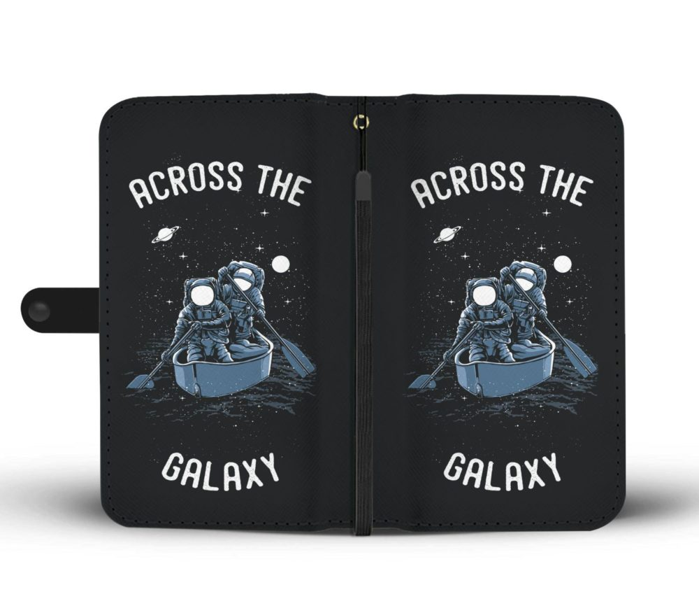 Awesome Across The Galaxy Astronaut Wallet Case 3