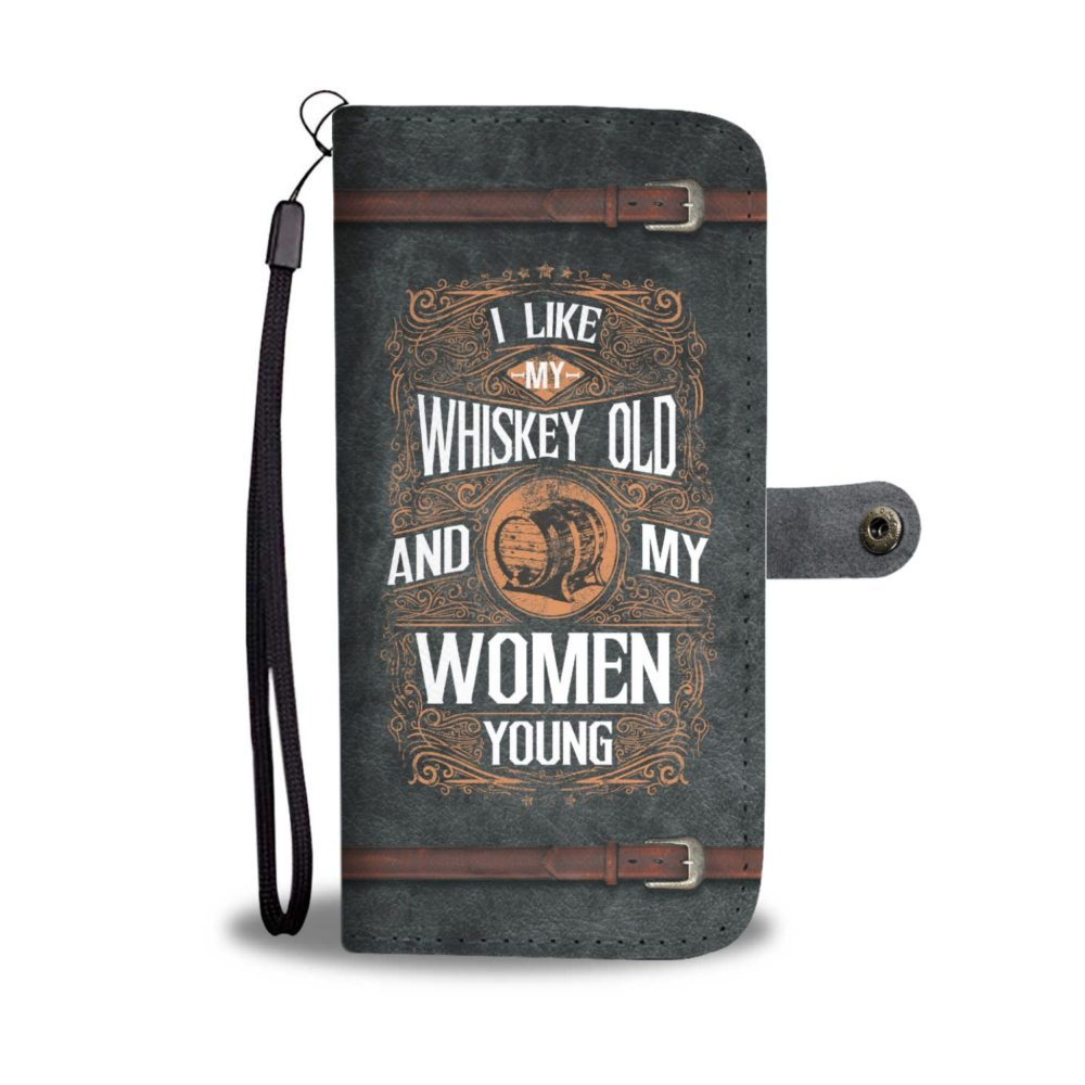 Awesome Whiskey Drinkers Wallet Case