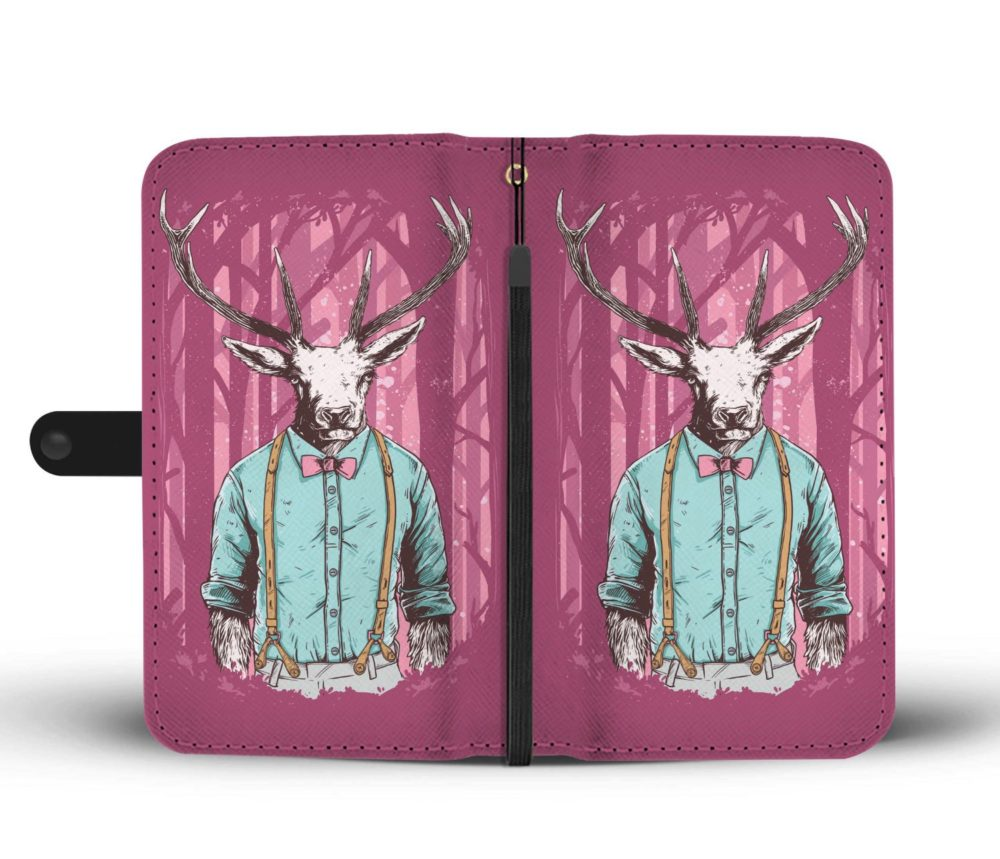 Deer Forest Wallet Case