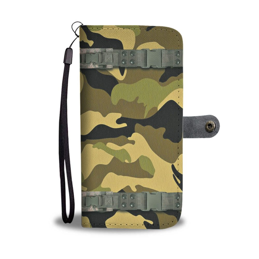 Awesome New Camouflage Clip Smartphone Wallet Case