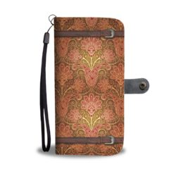 Awesome Yoga Pattern Smartphone Wallet Case