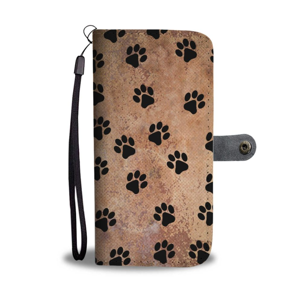 Dog Paw Dog Lover Smartphone Wallet Case