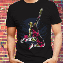 ZOMBIE-BASKETBALL-DUNK-HALLOWEEN-T-SHIRT