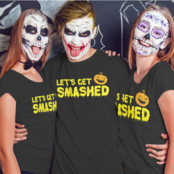 LETS-GET-SMASHED-HALLOWEEN-FUNNY-T-SHIRTmockup