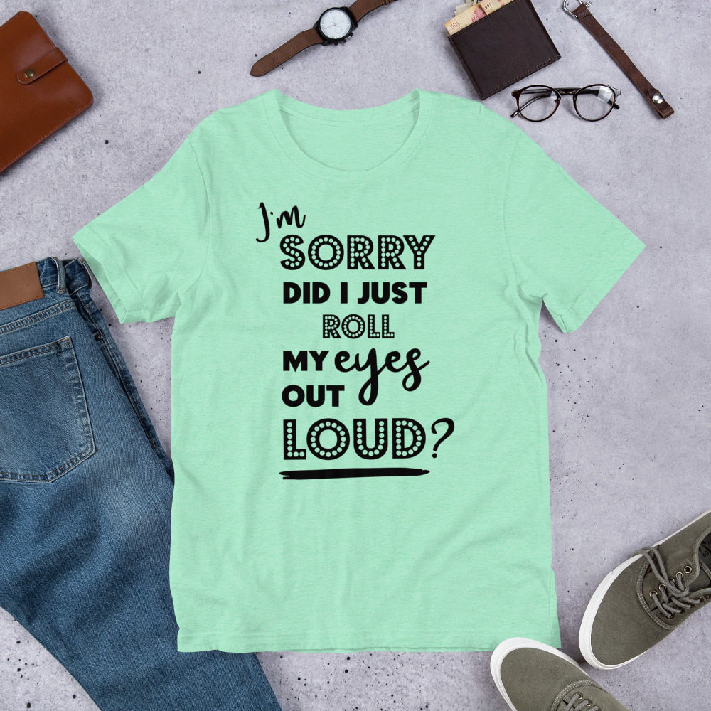 roll-my-eyes-black_mockup_Front_Flat-Lifestyle_Heather-Mint