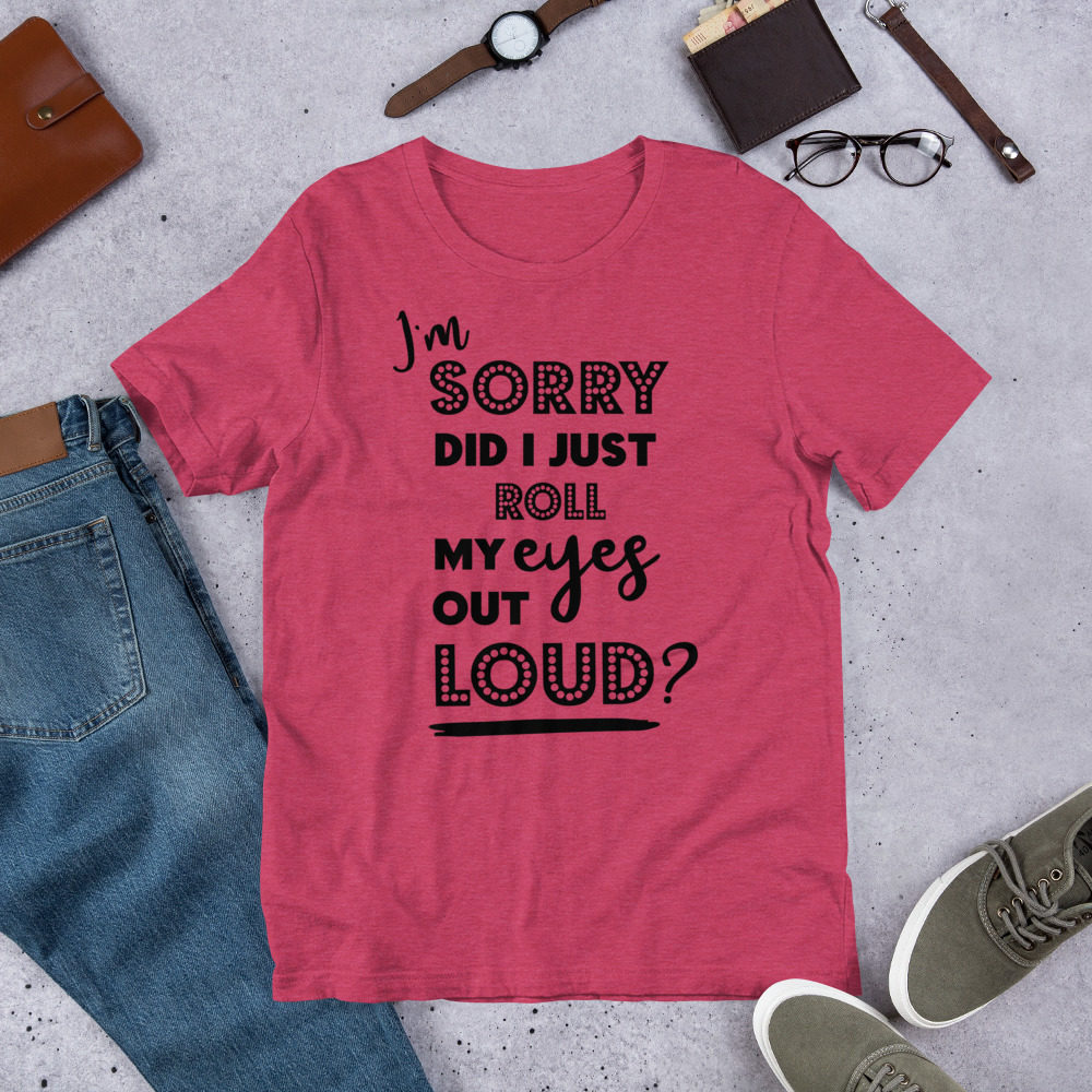 roll-my-eyes-black_mockup_Front_Flat-Lifestyle_Heather-Raspberry