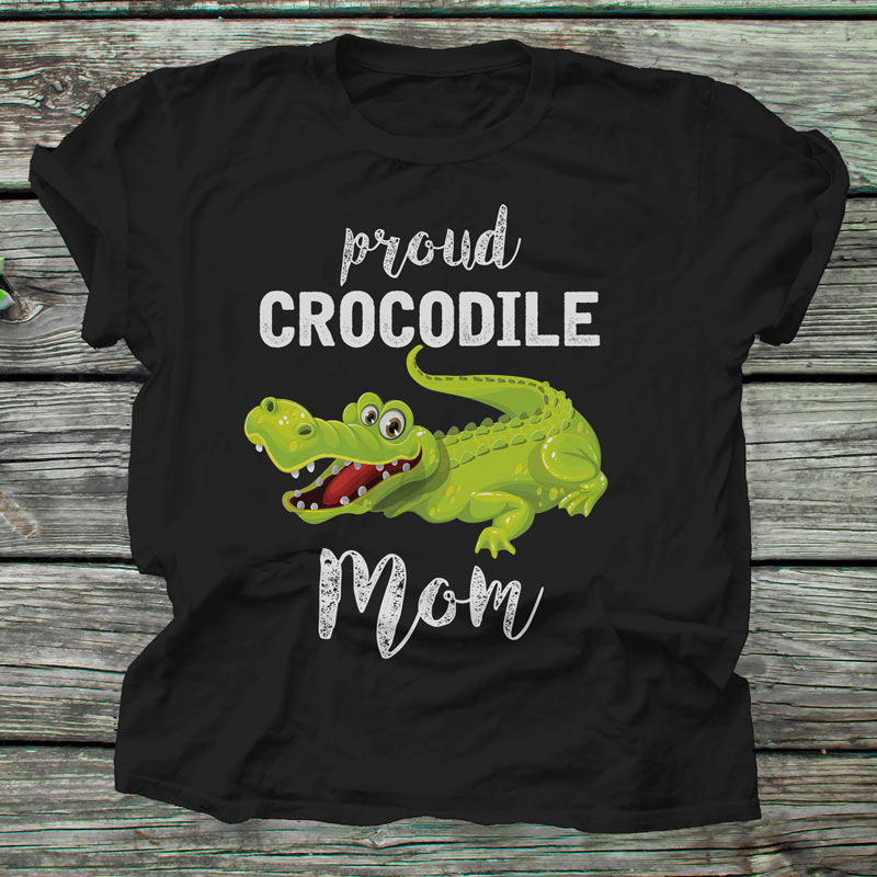 This cute crocodile tee shirt is a great gift for any proud Crocodile Mother. Surprise your mother, wife, girlfriend, daughter or sister with our Crocodile Mom tshirt.